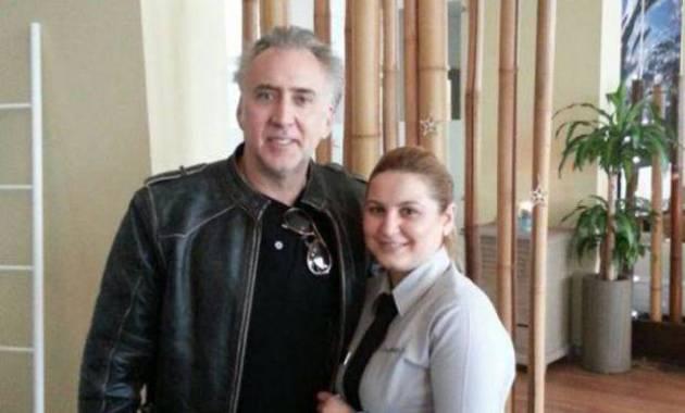 Răsfăț la Iaki pentru Nicolas Cage cu uleiul meu de migdală dulce!!!