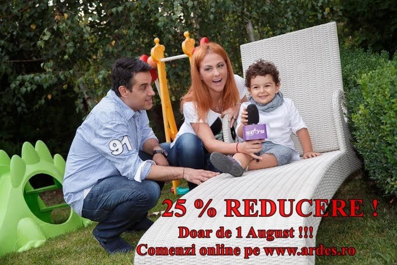 Cadou de ziua lui Teddy – 25% reducere pentru voi!!!