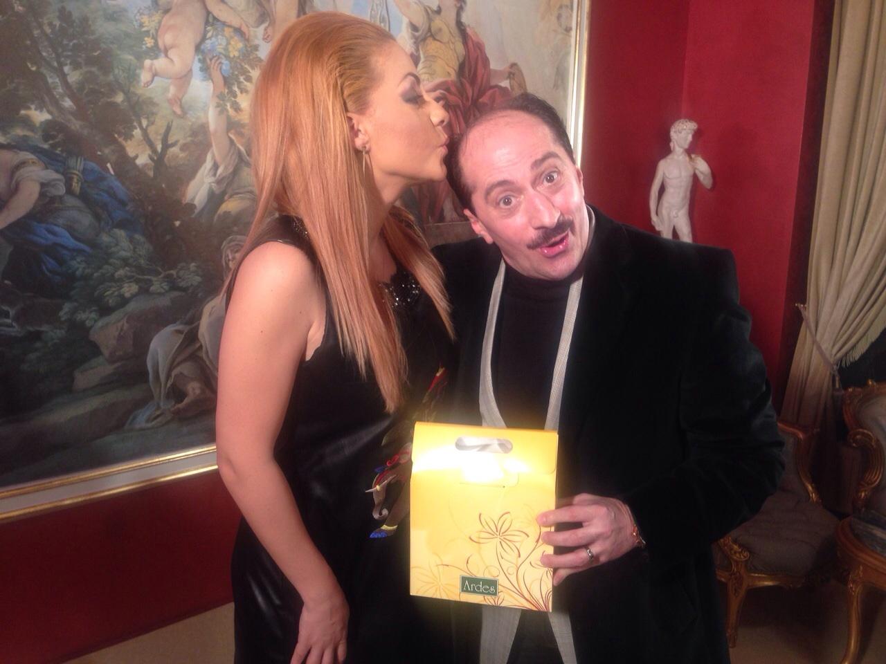 Romică Țociu votează Palmierul Pitic, pentru un păr ca pe vremuri